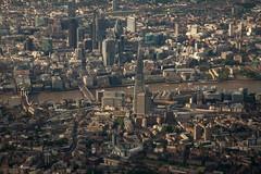 Heathrow Approach (Fieldy.) Tags: city sky london ariel thames londonbridge flying heathrow air o2 aeroplane londres docklands windowview canarywharf shard southlondon