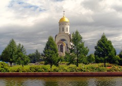 Temple of St. George on Poklonnaya Hill.       (Serge 585) Tags: city church museum architecture religious cathedral russia moscow religion muse temples antiques christianity orthodox architettura chrzecijastwo me2youphotographylevel1