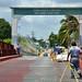 Il ponte che entra in Messico