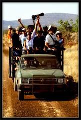 Tour at Cheetah Farm (PaulHoo) Tags: people tour farm cheetah cheer namibia excursion 2011 otjitotongwe