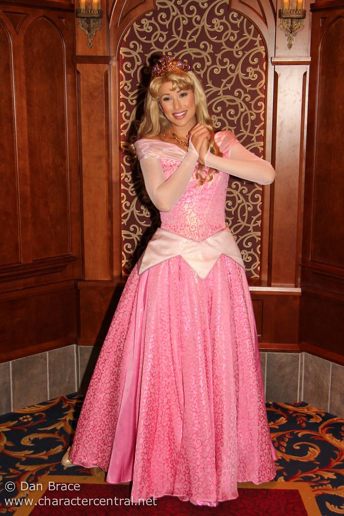 Princess Aurora at Disney