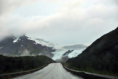 On Road, AK ( Worthington Glacier near Valdez) (faungg's photos) Tags: trip travel vacation usa weather fog alaska clouds landscape us scenery cloudy foggy scenic ak    worthingtonglacier    snowmountains  0nroad