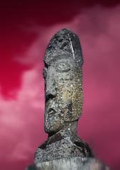 Ymir contemplating Ragnar (Gareth Bryant PHOTOGRAPHY) Tags: sculpture art statue stone canon scotland iceland dallas ancient stonework viking mythology icelandic norse forres morayshire ymir canon70200f28l rafford 5d2 5dmk2 gardarsson ceriimages