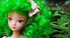 Zoe green (Softness) Tags: china cute green fashion hair outdoors doll dolls fashiondoll curlyhair chinadoll greenhair asiandoll chinesedoll kurhn fashiondolls dollfashion