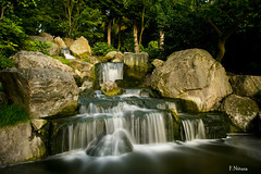 holland park waterfalls (riverain_5) Tags: park longexposure trees holland water out nikon rocks day waterfalls landscapedream waterenvirons d3100