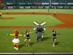 P1000633 (celeste_mer) Tags: 棒球 台南棒球場 2009年