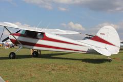 N2551C - 1954 build Cessna 170B, parked at Lakeland during Sun 'n Fun 2013 (egcc) Tags: lakeland cessna 170 snf lal robertson klal sunnfun continentalmotors linder 2013 26195 170b c145 n2551c