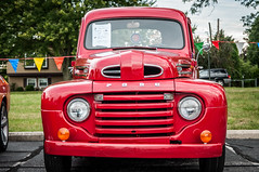 WestervilleComm_0095 (Muncybr) Tags: ford 1948 pickup f1 oh westerville carshow rickdickinson brianmuncy photographedbybrianmuncy westervillecommunityunitedchurchofchrist