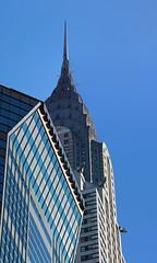 Chrysler Building from 42nd street (@harryshuldman) Tags: street new york city nyc building art skyscraper canon rebel manhattan lexington midtown chrysler dslr avenue deco 42nd t3i