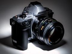 Minolta 50mm (Hypnotic Love) Tags: 50mm minolta flash olympus om omd f17 rokkor em5