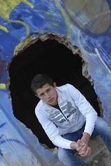Dorian (22) (Michel Seguret Thanks all for 9.900 000 views) Tags: boy portrait france nikon factory retrato adolescente son porträt teen teenager ado mode niño ritratto usine junge hijo garçon dorian d800 fils ragazzo sohn hérault jugendliche balaruc michelseguret