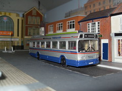National 1858 TVP 858S (Bandsman1) Tags: bus model national leyland westmidlandstravel diecast repaint timesaver code3 oogauge wmt 176scale counbourne