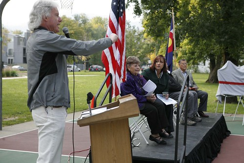 Photo - Emma Gomez Martinez Park Renaming Event