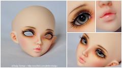 MNF Chloe for xxSugarxPopzxx (Eludys) Tags: doll makeup chloe bjd fairyland msd mnf faceup minifee eludys