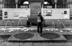 Wee Boy (Sylvia Slavin ARPS (woodelf)) Tags: street york boy halloween pee water fountain kids fun photography wee peeing weeing digitalswaledale