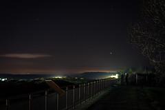 Tagebau (SiebenDeluxe) Tags: light shadow night germany dark stars deutschland licht heaven nacht himmel schatten brandenburg dunkel sterne tagebau