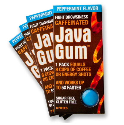 Caffeinated Java Gum