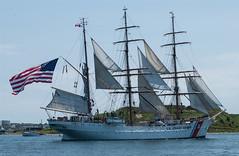 The Eagle (JPM Lamontagne) Tags: coastguard sailing ship eagle maritime sail tallship halifaxharbour atlanticcanada woodenship jpmlamontagne