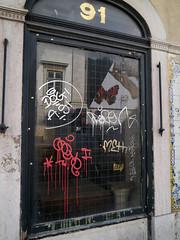 Graffiti in Lisboa 2013 (kami68k [-allover-]) Tags: dog graffiti lisboa tag tags illegal lissabon tagging bombing handstyles handstyle razen solie 2013 as