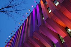Festival des lumires 1 (Patrice StG) Tags: winter night lights hiver qubec nuit lumires k30 pentaxart