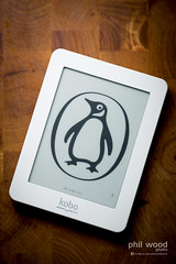 361:365:2013 - Kobo Mini (phil wood photo) Tags: white penguin december reader small books mini childrens 365 electronic ebook page1 productphotography day361 kobo project365 2013 colourchallenge 3652013 27122013
