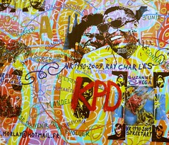 (TheNomadicLondoner) Tags: streetart berlin graffiti communism berlinwall eastsidegallery raycharles leonidbrezhnev erichhonecker dmitrivrubel mygodhelpmetosurvivethisdeadlylove