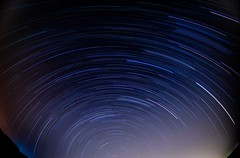 Aswan startrails (Attefable) Tags: longexposure blue sky night photography star nikon long exposure egypt trails astrophotography astronomy stary aswan mohamed startrails attef d5100