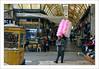 Le marchand de coussins roses