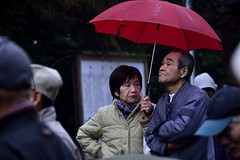 (Giopuppy) Tags: winter people rain japan umbrella temple japanese nikon rainyday persone  february inverno pioggia   susa giappone jinja nihon ombrello setsubun  izumo  febbraio tempio 2014  fuyu nihonjin giapponesi        d3100 nikond3100  susajinja susatemple tempiosusa