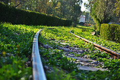 Railway Track (kamalalsanea) Tags: city track railway entertainment kuwait  kamal q8    a    alsanea