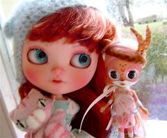 Amélia and little deer ♡