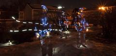DSC_9313D80  Backyard in Winter   2014 Paul Light (Paul Light) Tags: selfportrait nightlandscape nightwork