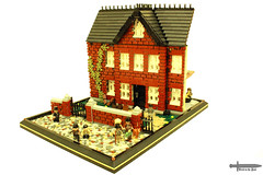 Please Sir, can I have more? (peggyjdb) Tags: lego victorian nancy workhouse fagan pickpocket olivertwist artfuldodger