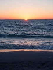 Life's a beach (nosha) Tags: blue sunset red orange beach water beauty sand florida sanibel nosha