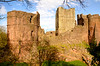 SOUTH WEST TOWER AND KEEP GOODRICH CASTLE (chris .p) Tags: uk england tower castle march spring nikon gb herefordshire goodrich 2014 d7000 mygearandme
