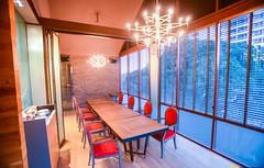 ห้องจัดเลี้ยง ของร้านเทนวะ ทองหล่อ10 ห้องสวย บรรยากาศดี อาหารญี่ปุ่น