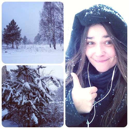 Snowy St.Petersburg ❄⛄