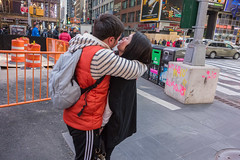 In The Moment (rockerlan) Tags: street new york people square photography photo manhattan candid sony midtown times moment the in rx100