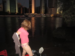 Milf Darkday Strips (darkday.) Tags: city pink woman water river kayak extreme paddle entrance australia brisbane explore urbanexploration enjoy qld queensland lowtide exploration milf urbex waveski