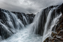 Brúarárfoss-From The Archives (Kristinn R.) Tags: sky water clouds waterfall iceland nikon nikonphotography nikond700 brúarárfoss kristinnr