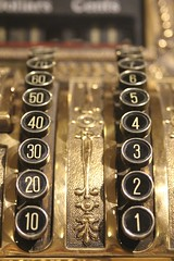 Two Rows (Read2me) Tags: numbers old antique cashregister she cye round circles gold rows thechallengefactory tcfunanimous pregamesweepwinner duele gamewinner friendlychallenges