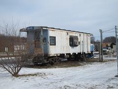 Office (Fan-T) Tags: nyc ohio window yard bay office caboose minerva conrail pineyfork