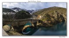 travel winter italy mountain lake landscape lago nikon... (Photo: Andrea di Florio (9.000.000 views!!!) on Flickr)