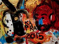 KAPRA 2015 (giveawayboy) Tags: carnival winter man painting tampa paint artist acrylic drawing goat marker sharpie february cabra karnival cdc capra fch giveawayboy karnevale 2015 billrogers kafra kapra
