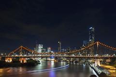 Story Bridge by Nightfall, Brisbane