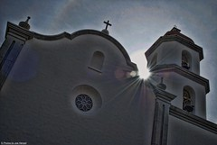 Mission Basilica San Juan Capistrano (Joe Hengel) Tags: california sun church socal southerncalifornia hdr missionbasilicasanjuancapistrano