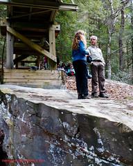 At Rock Creek Bridge - Rock Creek Gorge Section of the Cumberland Trail (mikerhicks) Tags: winter people usa geotagged unitedstates hiking tennessee rockcreek coulterville cumberlandtrail tennesseestateparks salecreek rockcreekbridge cumberlandtrailstatepark rockcreekgorge canon7dmkii sigma18250mmf3563dcmacrooshsm geo:lat=3542207167 geo:lon=8516075167 threegorgessegment rockcreekgorgesection