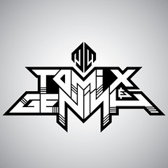 Tomix & Genish (samezzz) Tags: logo design israel dj drop type electronic base trance