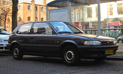 1991 Toyota Corolla hatchback 1.3 XLi (rvandermaar) Tags: toyota 1991 13 corolla hatchback e90 toyotacorolla xli sidecode5 ke90 dfnv44