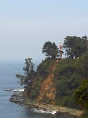 El Faro (Guillermo Feliú) Tags: ocean chile trees sea sky lighthouse faro mar arboles pacificocean cielo oceano lota parquedelota